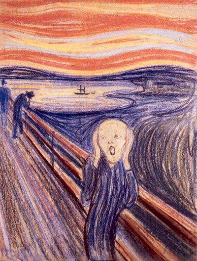 Edvard Munch Krzyk