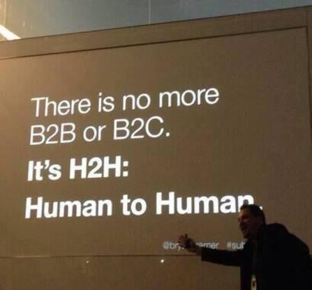B2B  = Human to Human w IT. Szanujmy się kliencie!