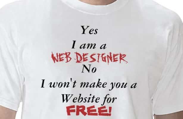 Ile kosztuje strona internetowa? Las absurdów.
