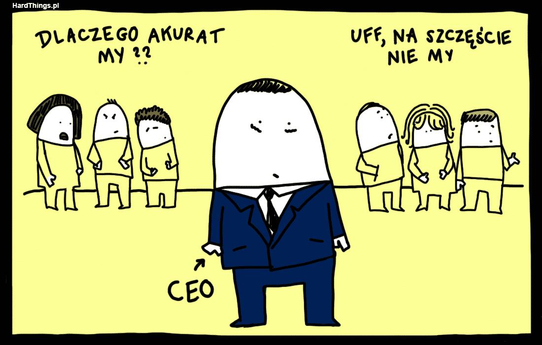 Restrukturyzacja w firmie to dojrzewanie